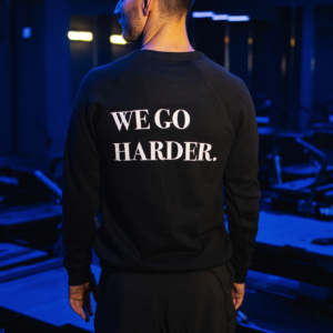 We Go Harder Sweater