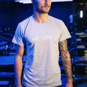 Velocity T-Shirt Grey