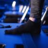 Toesox Grip Sock Black, Full Toe